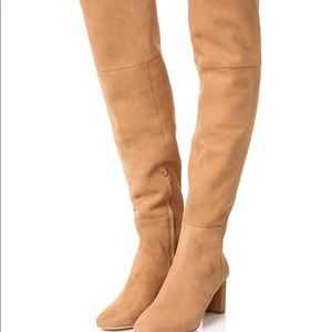 Loeffler Randall suede new with box over the knee